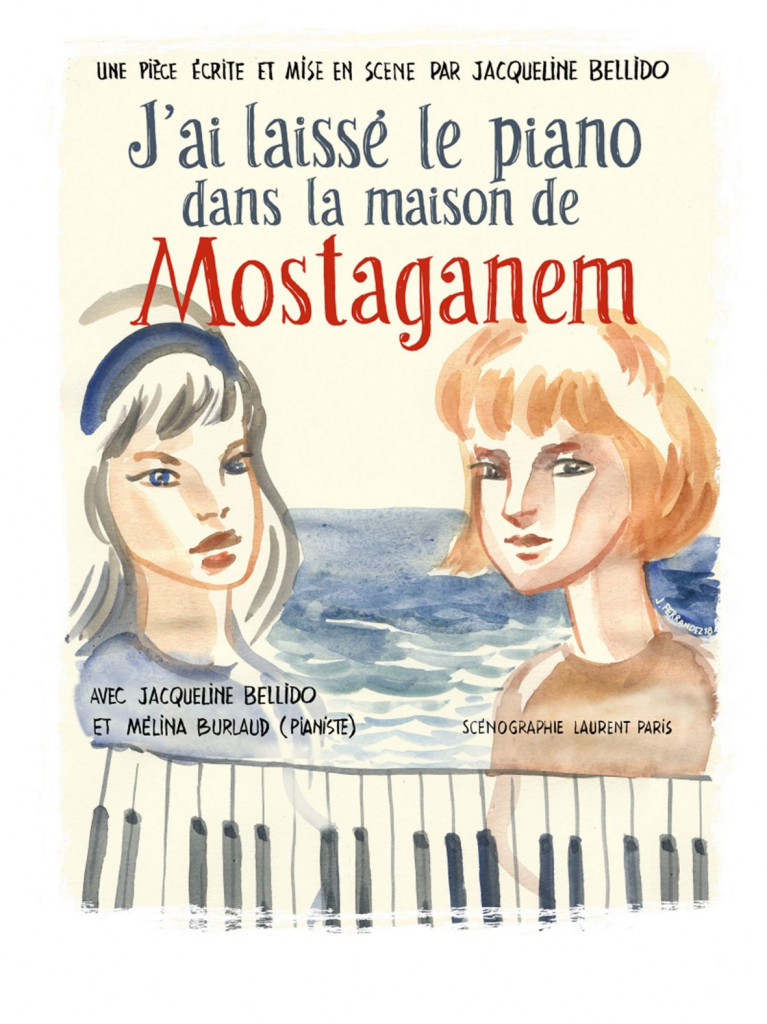 AFFICHE PIANO BELLIDO
